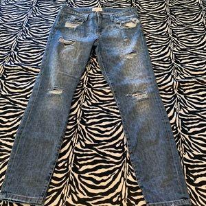 Current/Elliot Leopard Jeans